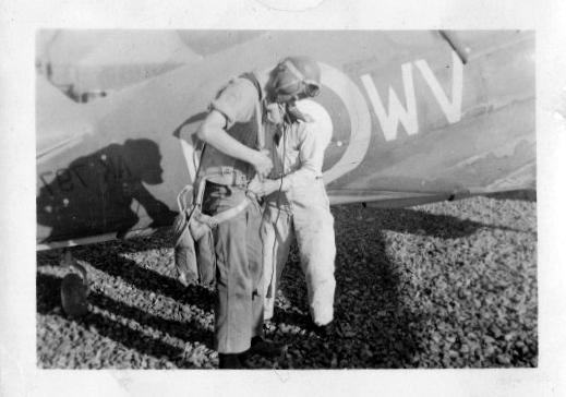 Kittyhawk with pilot