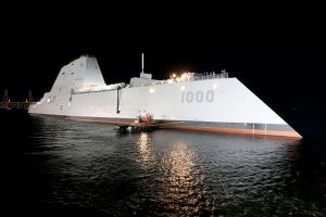 USS Zumwalt (DDG-1000) expected to be commissioned later 2015