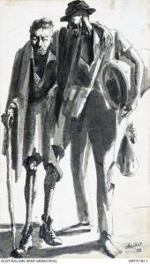 sketch by Jack Chalker, Fepow;British Army, Konyu, Thailand