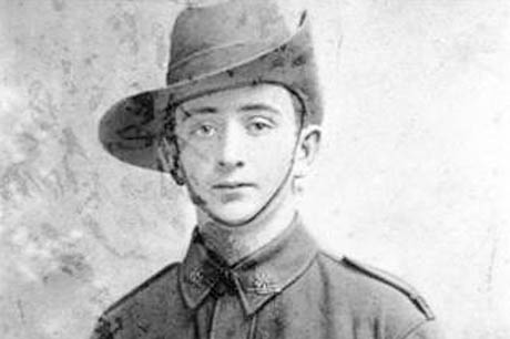 James Charles Martin (1901-1915), youngest Australian KIA at Gallipoli