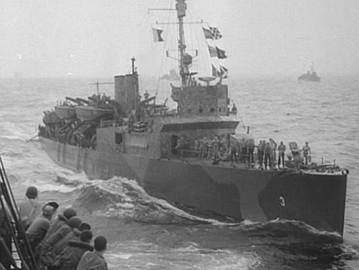 USS Gregory carries the 1st Raiders to Tulagi, 8 August 1942