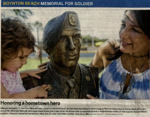 A new memorial for South Florida.