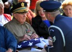 Funeral for a homeless veteran.