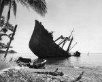 destroyed Japanese ship