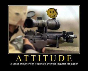 Sniper sense of humor