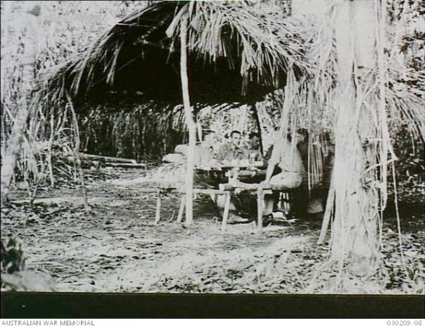 Soputa, New Guinea officer's mess
