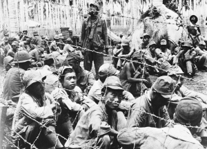 Japanese POWs on Guadalcanal