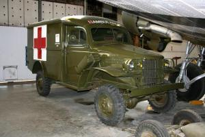 Jeep ambulance from the David Dunham Collection