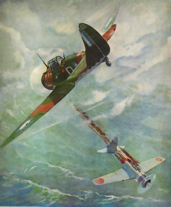 """Extraordinary Incident"" by Roy Hodgkins, 1943"
