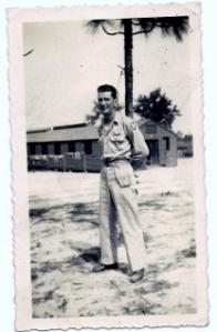 Pvt. Everett Smith , Camp MacKall My father Smitty.
