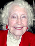Peggy at her 100th birthday, 2005