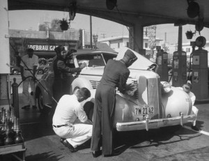 Remember a FULL-service gas station?