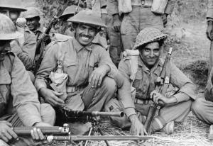 Indian troops, Arakan Peninsula, Burma
