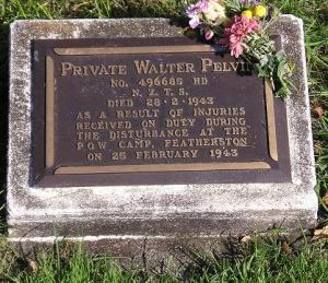 Pvt. Walter Pevin, NZ POW guard