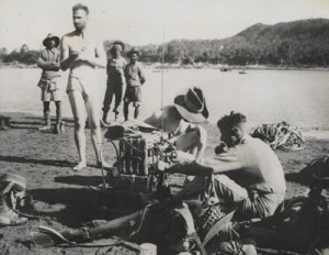 Chindits behind enemy lines, Burma, May 1943.