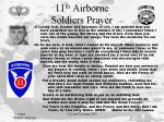 11th A/B Soldiers Prayer