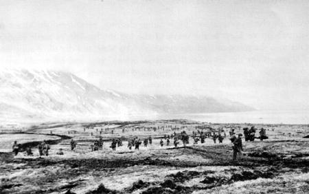 4th Infantry, Massacre Bay