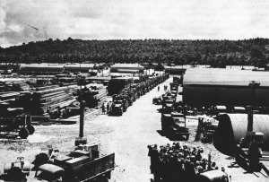 The 36th SeaBees preparing to deploy to Bougainville
