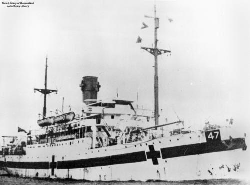 Australian Hospital ship, Centaur
