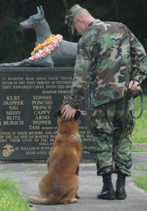 War Dog Memorial on Guam