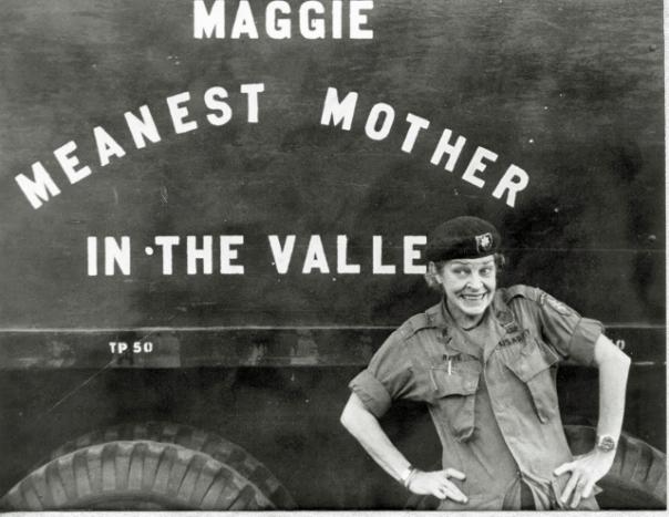 Maggie's tour truck