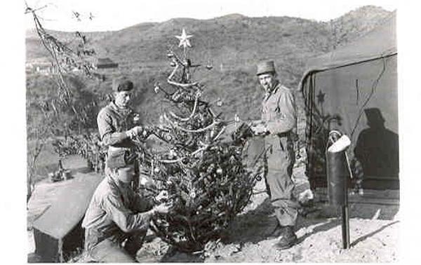 Christmas 1950, Korea