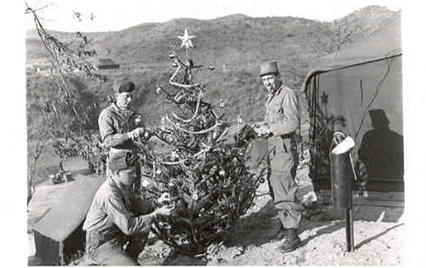 Christmas 1950, Korea