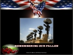 """""""Remembering Our Fallen"""", courtesy of: Cora Metz @ A Fresh Start"""