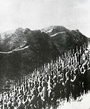 Troops of the Japanese 15th Army in Burma