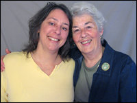 Joyce Butler and her daughter Stephanie, Portland, ME