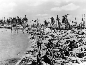 Betio, Tarawa after the fighting