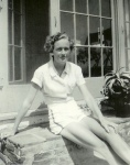 Yes, this is the chef from TV, Julia Child in WWII.