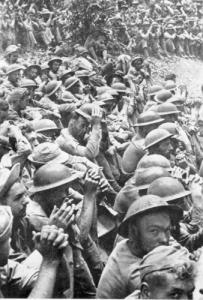 Bataan surrenders