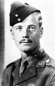 Lt. Alec George Horwood, Victoria Cross; Queen's Royal West Surrey Reg., British Army