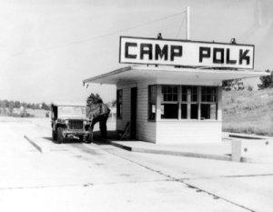 Entrance to Camp Polk
