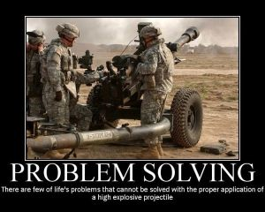 military-humor-funny-joke-soldier-gun-army-artillery-Problem-Solving
