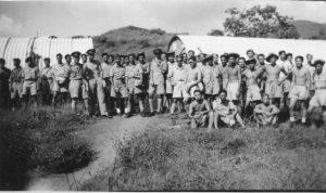 Training camp near Poona, India. (another camp was in Australia).