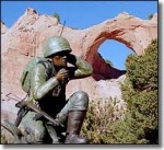 Navajo Code Talker's Monument, Window Rock, AZ