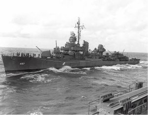 USS Strong, sunk at Kula Gulf