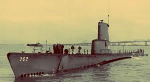 "USS 'Guarvina, April 1944, sank a trawler & cargo ships, ""Tetsuyo Maru"" & ""Noshiro Maru"""