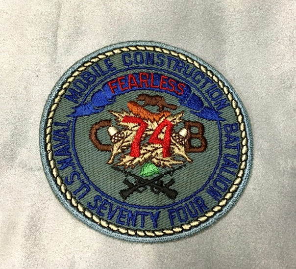 patch for NMCB 74 with beaver