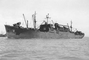 USS Heyward - Heyward class troop ship