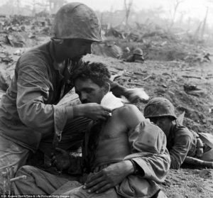 Tanapag, Saipan, June '44. by W.Eugene Smith