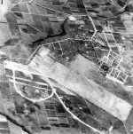 Aslito airfield when it was still in Japanese hands, 1944