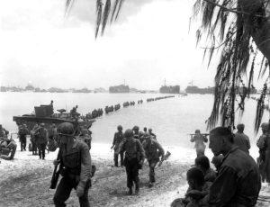 Saipan landing