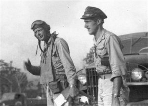 Lindbergh with the 5th Air Force
