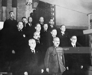Gen. Hidecki Kojo and Cabinet