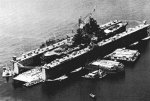 ABSD-2 at Manus w/ USS Mississippi (BB-41), 12 October 1944