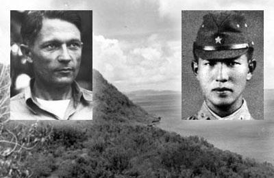 Left: RM1c George Ray Tweed Right: Sergeant Soichi Yokoi