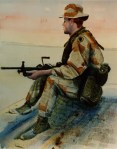 'On Guard' by SFC Peter G. Varisano